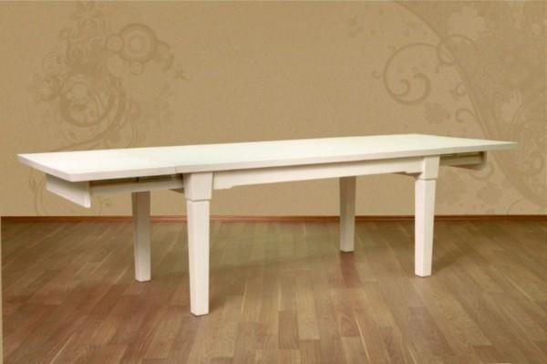 Pinienesstisch 180 x 95 mit 2 Vorkopfauszügen