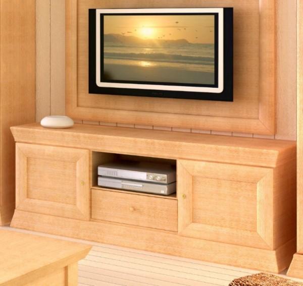 TV-Lowboard Quadro Pinie massiv
