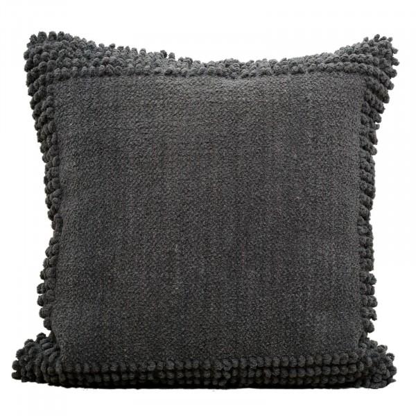 Deko-Kissen Baumwoll-Chenille mit Inlet und Füllung, handgefertigt verschiedene Farben
