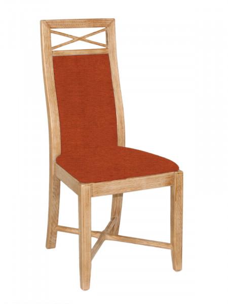 Esszimmer-Stuhl Sitz und Rücken gepolstert Pinie massiv