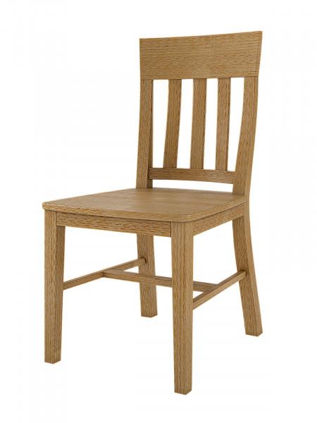 Esszimmer Stuhl mit Holzsitzfläche Duett, Pinie massiv