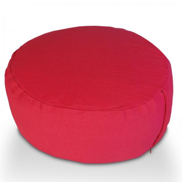 Yogakissen Meditationskissen Sitzkissen Lotus rund 31x16x31 cm Bezug waschbar