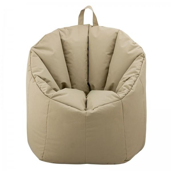 Sitzsack Outdoor Sessel mit Lehne Bamba ø 60 H 80 cm hochwertig und pflegeleicht 4 Farben