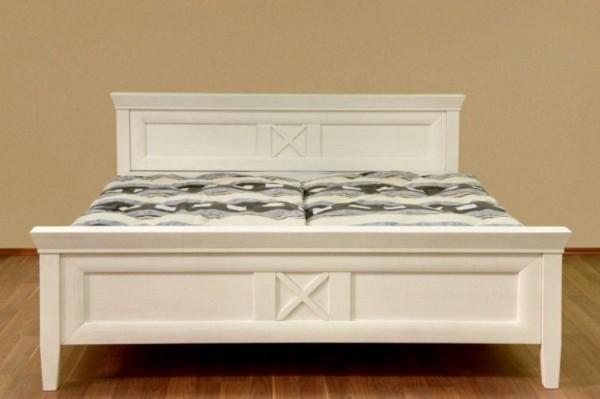 Bett Doppelbett Quadro 140/160/180/200 X 200 Cm, Pinie